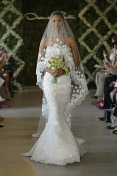 oscar de la renta wedding dress - Popular Weddings Pins on Pinterest