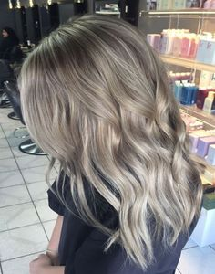 Ash Blond Ombre Best Collection Hairstyle Trends 2017