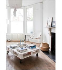 10 Versatile Coffee Tables on Wheels : Remodelista