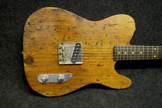 Telecaster made form old wood? Far better than one made from new wood.