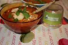 Régalez-vous avec cette recette: Soupe à la tomate et aux vermicelles (au Thermomix). MySaveur, le seul site qui vérifie, teste et trie les meilleures recettes.