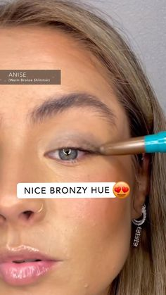 JUST DROPPED: Effortlessly elevate any look with our NEW Brilliant Eye Brightener™ Soft Metallics Collection! Check out our 3 newest shades for a mistake-proof wash of natural, shimmery color in seconds. Kiss Makeup, Eye Makeup, Hair Makeup, Beauty Secrets, Beauty Hacks, Night Secrets, Amazing Food Videos, Make Eyes Pop, Twisted Recipes