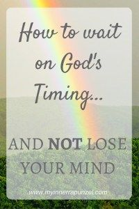 Waiting On God is hard to do. This post encourages the reader in their season of waiting.