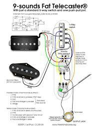 tele wiring diagram 1 single coil 1 neck humbucker my other rh pinterest com Basic Wiring Telecaster Squier Telecaster Wiring-Diagram
