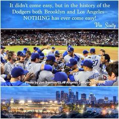 Words from a legend Mr. Vin Scully