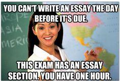 Unhelpful Highschool Teacher