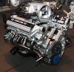 1989 Toyota 1UZ-FE Type engine rear