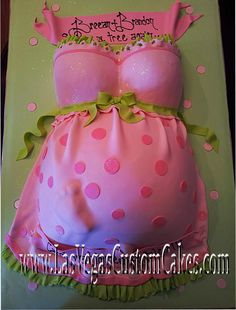 Belly Cake.. Would be awesome For a baby shower