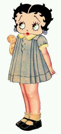 Betty Boop ~ Betty & Her Baby Doll