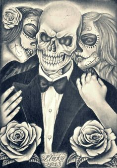 Evil Skull Art Bing Images Skulls And Bones