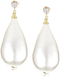 Discounted Jewelry – off or more! Pearl Drop Earrings, Pearl Jewelry, Johannes Vermeer, White Chic, Discount Jewelry, Wedding Styles, Amanda, Dangles, Ivory