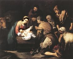 nativity scenes pictures | nativity_scene_murillo
