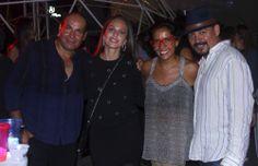 Gustavo Aceves, Jessica Téllez, Isabela Maraboli y Esteban Torres.