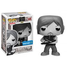 Funko Pop! Daryl Dixon, Black and White Daryl, Walmart Exclusive, The Walking Dead, TWD, AMC, Séries