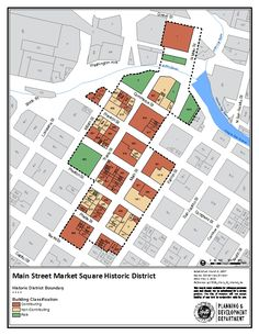 City of Houston - Historic Preservation Manual - Historic District - Main Street Market Square - Boundaries