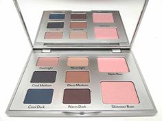 Cargo Eye Contour Eye Shadow Palette.  Two hues of #neutral makeup!