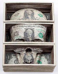 beanfield: Lasercut Moneys - Scott Campbell