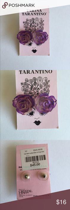 New Tarina Tarantino Earrings Never worn. Original dust bag included. Tarina Tarantino Jewelry Earrings