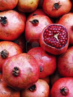 Pomegranate Stock