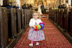 Find a church with things to do for children or bring your own. This Church in Saltash made sure that there was no time for boredom at Laura and Gav's Cornish wedding.