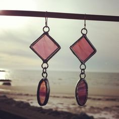 Hey, I found this really awesome Etsy listing at https://www.etsy.com/listing/180687328/handcrafted-stained-glass-drop-earrings