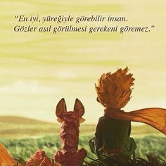en iyi yüreğiyle görür insan Motto Quotes, Book Quotes, Life Quotes, Baby Prince, Vintage Hipster, The Little Prince, Mind Body Soul, Cool Words, Alice In Wonderland