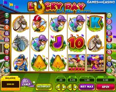 #Horse racing is one of the most popular events to bet on anywhere in the world, and Pragmatic Play decided to make a #slot based on the popularity of it with Lucky Day at the Races. http://www.gamesandcasino.com/slots/lucky-day-at-the-races.html