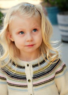 Ravelry: Playful Stripes Cardigan pattern by Alana Dakos