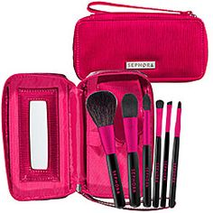 Really need new makeup brushes, and would love a pretty set of them - most important - big blush/foundation brush, angled eye shadow, lip. $34