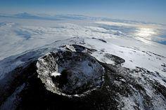 Cratère principal du mont Erebus