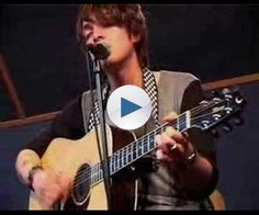 "Paolo Nutini acoustic performance of ""These Streets"""