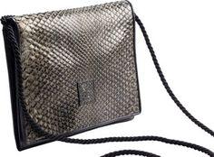 Fendi Snakeskin Rope Bag