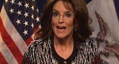 Tina Fey makes triumphant return as Sarah Palin in a hilarious sketch (VIDEO)