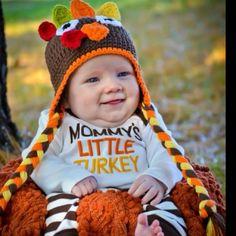 Thanksgiving turkey baby