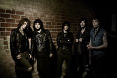 #AskingAlexandria British metalcore band with influences from electro music. #metalcore