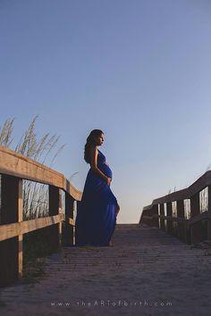 Erin vestido maternidad se burló de abrigo por CoutureParfait