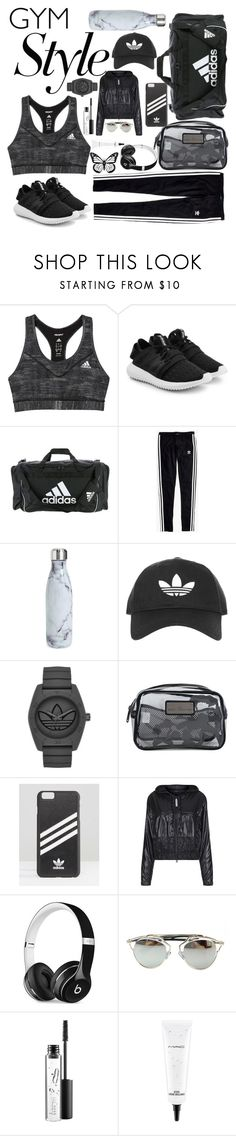 """Untitled #30"" by glendamahala ❤ liked on Polyvore featuring adidas, adidas Originals, Madewell, S'well, Topshop, Beats by Dr. Dre, Chicnova Fashion and MAC Cosmetics"