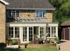 View images of our contemporary orangeries and timber kitchen extensions