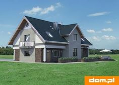 DOM.PL™ - Projekt domu AN LAZURYT CE - DOM AO10-37 - gotowy koszt budowy Shed, Outdoor Structures, Cabin, House Styles, Home Decor, Lean To Shed, Cabins, Cottage, Interior Design