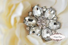 3 pcs RD123 Rhinestone Metal Flatback Embellishment Button Brooch Bridal accessories invitations crystal bouquet flowers hair clip comb by simplysassysource on Etsy https://www.etsy.com/listing/87272589/3-pcs-rd123-rhinestone-metal-flatback