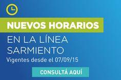 CRÓNICA FERROVIARIA: Línea Sarmiento: Nuevo cronograma de horarios a pa...