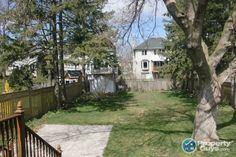 50 by A backyard with so much potential. Ontario, Deck, Backyard, Outdoor Decor, Plants, Home, Yard, Front Porches, Ad Home