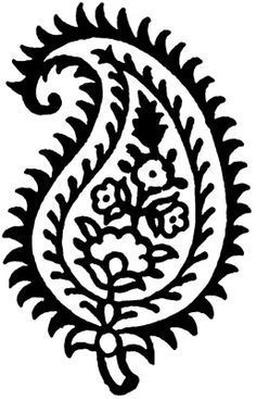 Palm Fan Rubber Stamp from The English Stamp Company - making rubber stamps since Indian Prints, Indian Art, Freezer Paper Stenciling, Indian Flowers, Stencil Printing, Large Stencils, Indian Patterns, Carving Designs, Fabric Painting