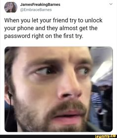 memes 1 comment — iFunny When you let your friend try to unlock your phone and they almost get the password right on the first try. – popular memes on the site When you let your friend try to unlock your phon. Funny Marvel Memes, Marvel Jokes, Dc Memes, Avengers Memes, Marvel Avengers, Really Funny Memes, Stupid Funny Memes, Funny Relatable Memes, Haha Funny