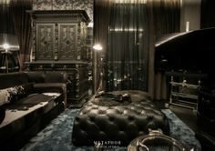 THE DARK NIGHT / Private Residence by Metaphor Design Studio