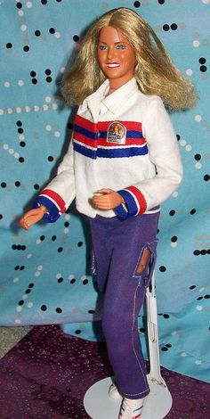 1978 Bionic Woman Barbie. Had one with blue eyes and one with brown.
