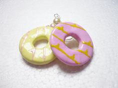 Party Ring Biscuit Earrings.