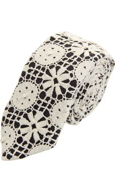 Marwood Geometric Lace Tie