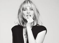 Emmanuelle Seigner. #france #french #madeinfrance #swag #styleicon #style.
