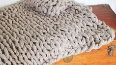 KNITTING MADE EASY! WATCH OUR HOW-TO VIDEO WITH WOOL AND THE GANG - YouTube